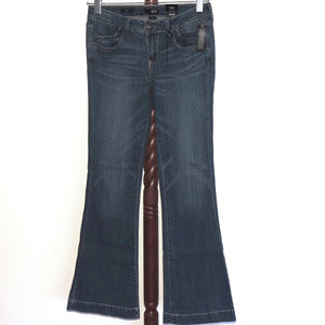 a.n.a. A New Approach Flare Lower Rise denim jeans
